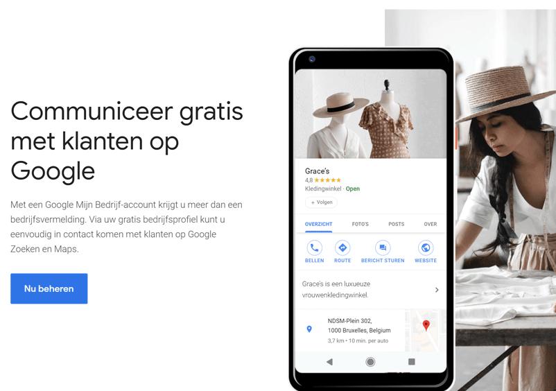 Google My Business Onderhouden AdMiners