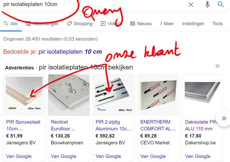 Google Shopping Verfijnen AdMiners Digital Marketing